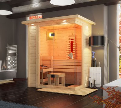 sauna g nstig kaufen sauna bausatz f r ihr zuhause bis. Black Bedroom Furniture Sets. Home Design Ideas