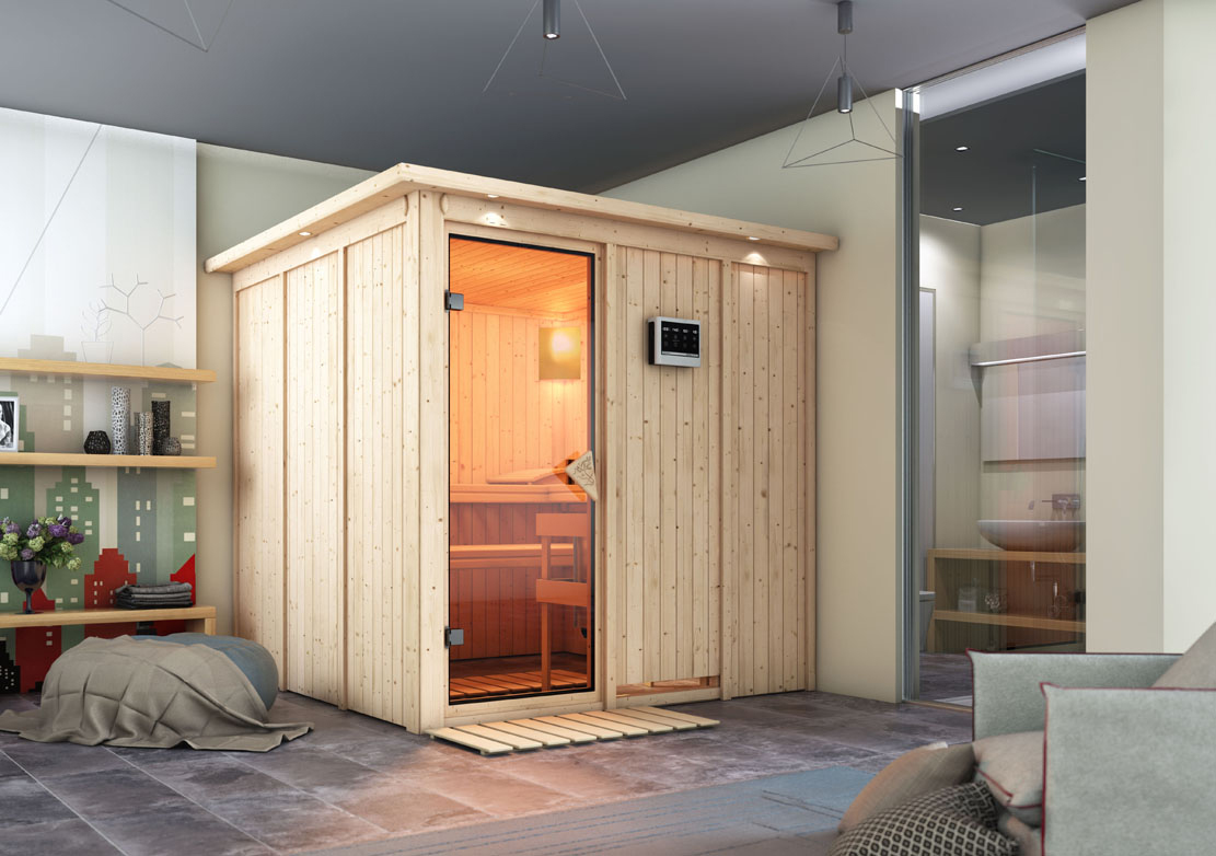 sauna kaufen guenstig gallery of domo sauna mylife alaska. Black Bedroom Furniture Sets. Home Design Ideas